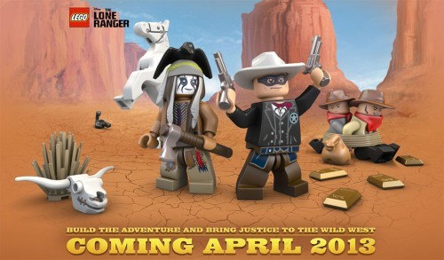 The Lone Ranger LEGO sets coming April 2013